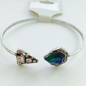 Boho Cuff Bracelet Tribal Triangle
